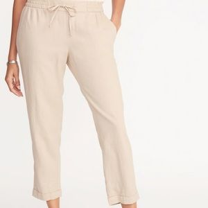 Cropped Lined Pants